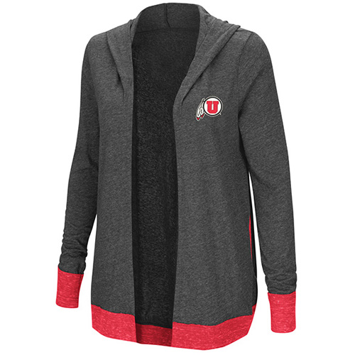 Women's Athletic Logo Hooded Cardigan