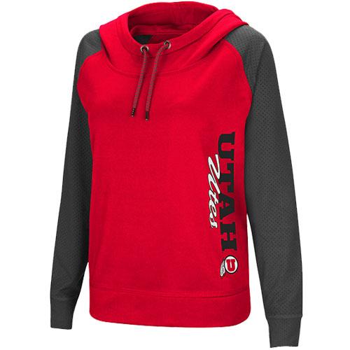 Utah Utes Athletic Logo Women's Hoodie