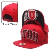 Zephyr UTES Adjustable Youth Red Hat