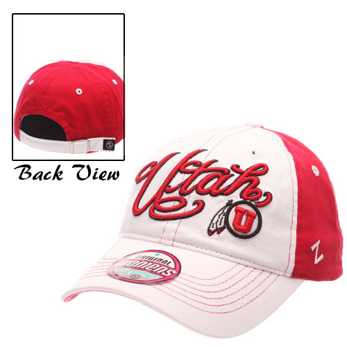 Zephyr Women Cursive Utah  Adjustable Hat