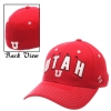 Zephyr Utah Utes Red Adjustable Hat