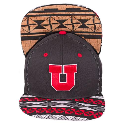 Zephyr Block U Toa Collection Adjustable Black Hat