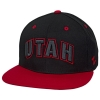 Zephyr Utah Black and Red Adjustable Snapback Hat thumbnail
