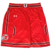 Under Armour Youth Red Basketball Striped Shorts