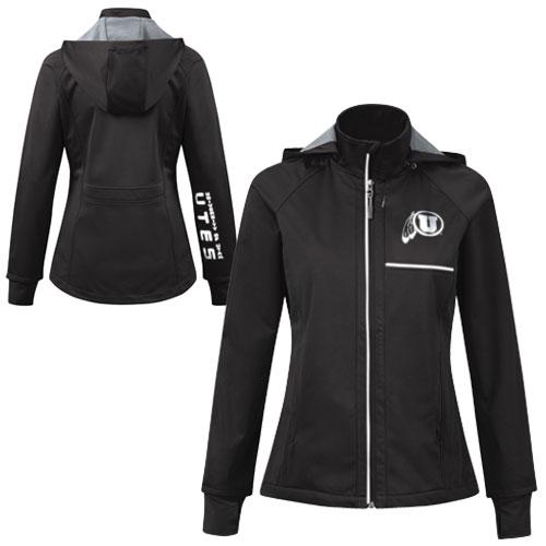 University of Utah Utes Athletic Logo Women's Shell Jacket