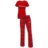 Women's Utah Utes Athletic Logo Pajama Sleep Set