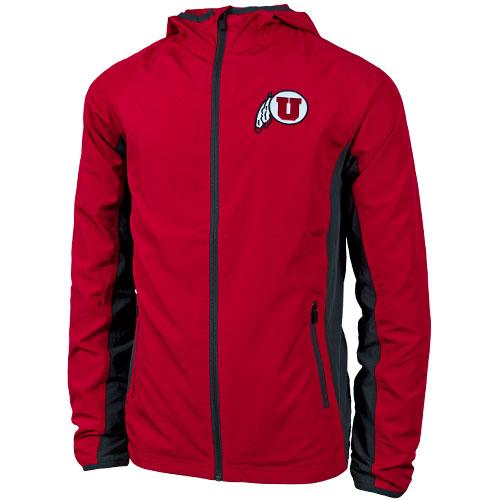Colosseum Utah Athletic Logo Rain Jacket