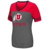 Colosseum Utes Athletic Logo Womens Jersey Tee
