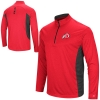 Colosseum Athletic Logo Two Tone Quarter Zip Pullover