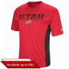 Colosseum Chevron Font Utah Athletic Logo Mens T-Shirt