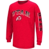 Colosseum Utah Athletic logo Red long sleeve