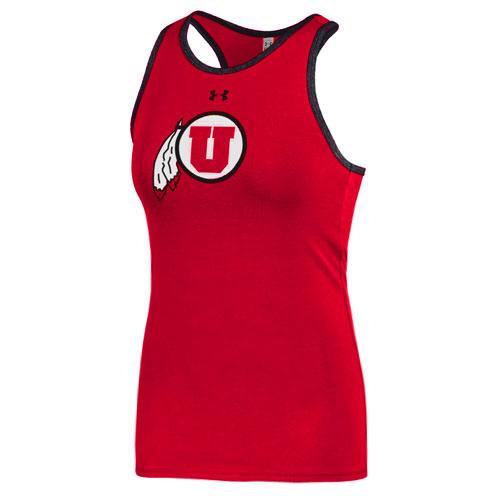 Under Armour Women's Athletic Logo Ringer Tank Top