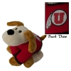 "8"" Athletic Logo Floppy Dog Plush"