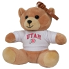 "3"" Athletic Logo Bear Keychain"