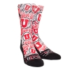 Rock'em Athletic Logo Block U Collage Adult Socks