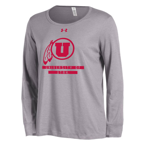 Under Armour Athletic Logo Womens Longsleeved Tee