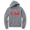 League University of Utah Womens Hooded Triblend Sweatshirt