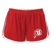 League Athletic Logo Running Shorts