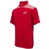Columbia Sleek Athletic logo Red Men Polo