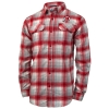 Columbia Athletic Logo Flannel Collared Shirt