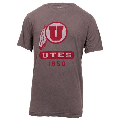 Gear Vintage Grey Athletic logo T-shirt