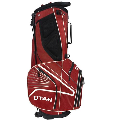 Utah Utes Athletic Logo Gridiron III Stand Bag
