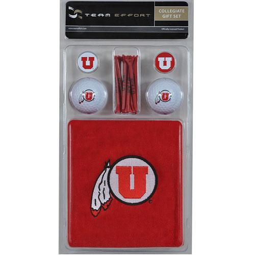 Utah Utes Golf Gift Set