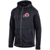 Champion Athletic logo Full Zip Hooded Sweatshirt