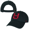 Red and Black Surrounding U Adjustable Hat