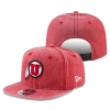New Era Rugged Red Athletic Logo Adjustable Men Hat