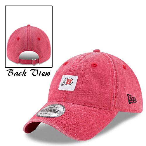 New Era Athletic logo Square Patch Adjustable Hat