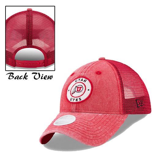 New Era Utah Utes Athletic Logo Circular Patch Hat
