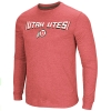 Utah Utes Athletic Logo Waffle Knit Long Sleeve
