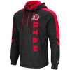 Colosseum Athletic logo Utah Quarter Zip Hoodie