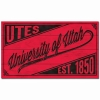 University of Utah Script Wood Sign