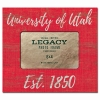 Legacy University of Utah Est. 1850 4x6 Photo Frame