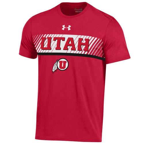 Under Armour Utah Athletic Logo Mens T-Shirt