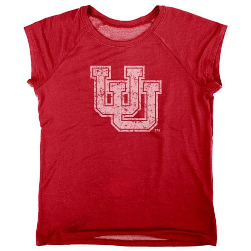 Blue 84 Interlocked U Womens T-Shirt