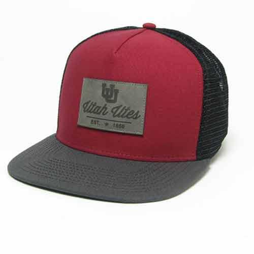Legacy Hi-Pro Flat Brimm Interlocking U Utah Utes Hat