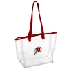Athletic Logo Clear Tote