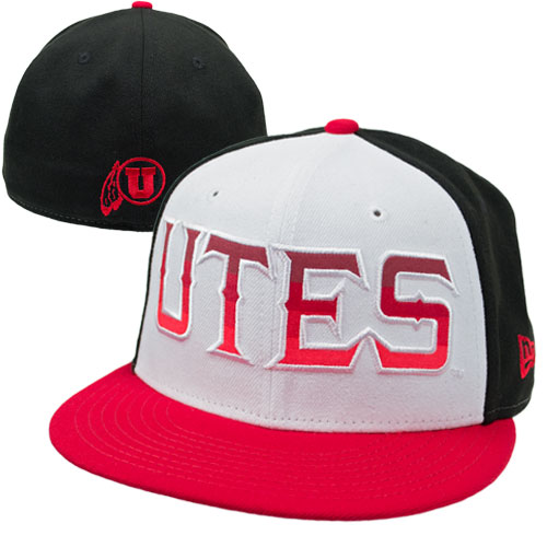 New Era Utes Flat Flat Brim Hat