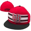 New Era Interlocking U Striped Fitted Hat