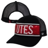 47 Brand Utes Sequins Womens Adjustable Hat with Mesh