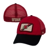 47 Brand Faded Athletic Logo Flex Fit Hat with Mesh