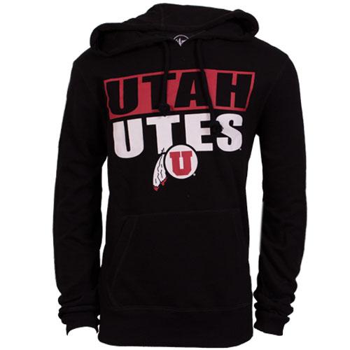 47 Brand Utah UTES All Black hoodie