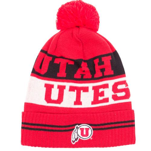 Under Armour Utah UTES Red Beanie