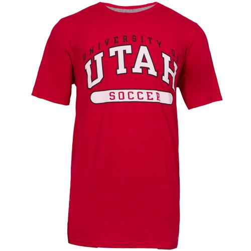 Russell University of Utah Soccer Red Men T-shirt