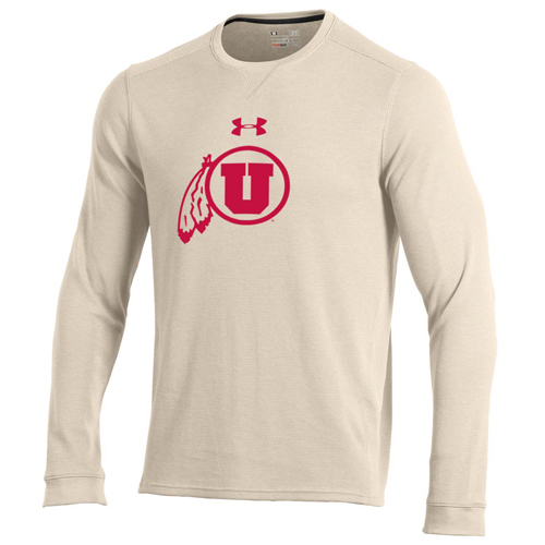 Under Armour Athletic Logo Waffle Knit Long Sleeve