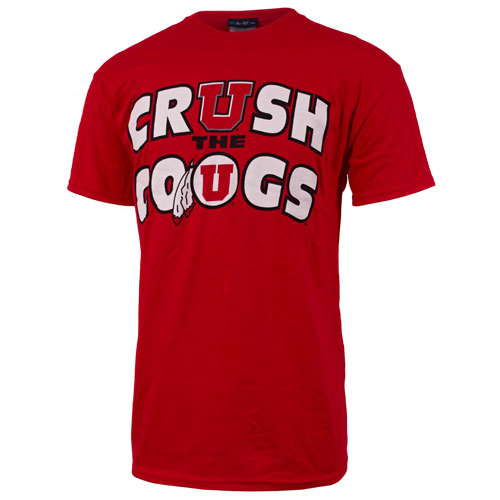 Athletic Logo CrUsh the Cougs T-shirt