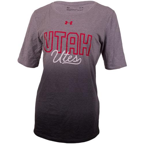 Under Armour Utah UTES Gradient Grey Women T-Shirt